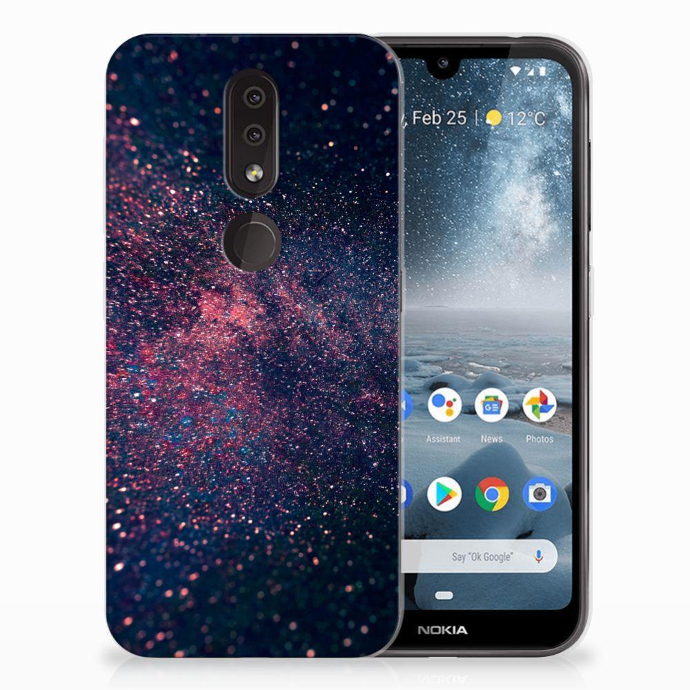 Nokia 4.2 TPU Hoesje Design Stars