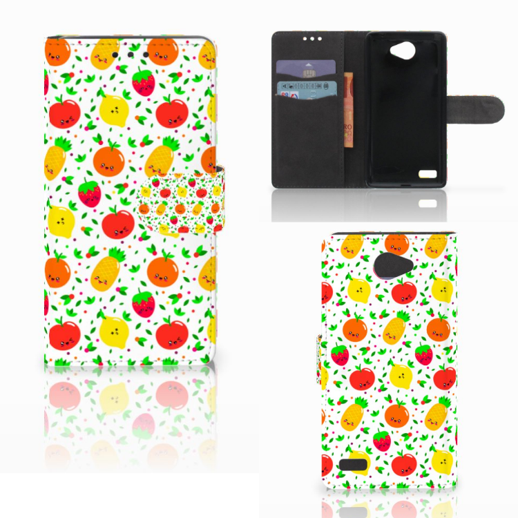 LG Bello 2 Book Cover Fruits