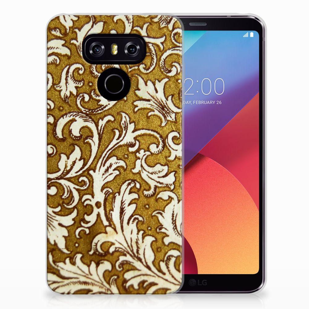 Siliconen Hoesje LG G6 Barok Goud