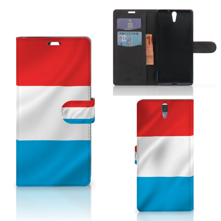 Sony Xperia C5 Ultra Bookstyle Case Luxemburg