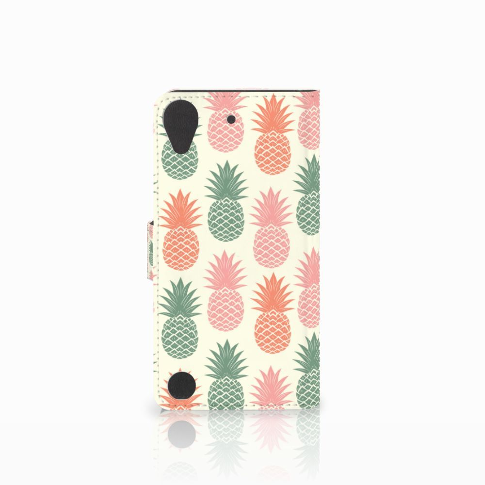 HTC Desire 530 Book Cover Ananas