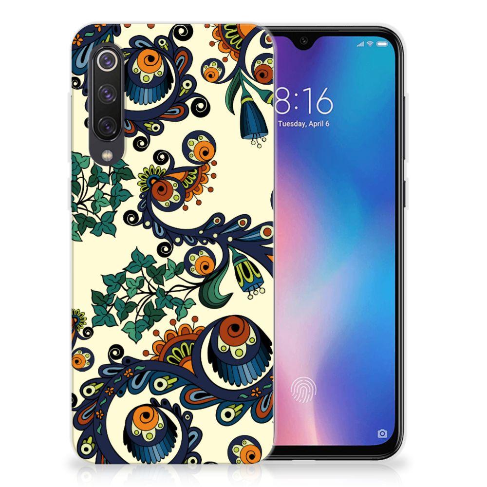 Siliconen Hoesje Xiaomi Mi 9 SE Barok Flower