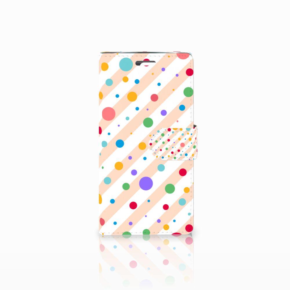 LG K10 2015 Boekhoesje Design Dots