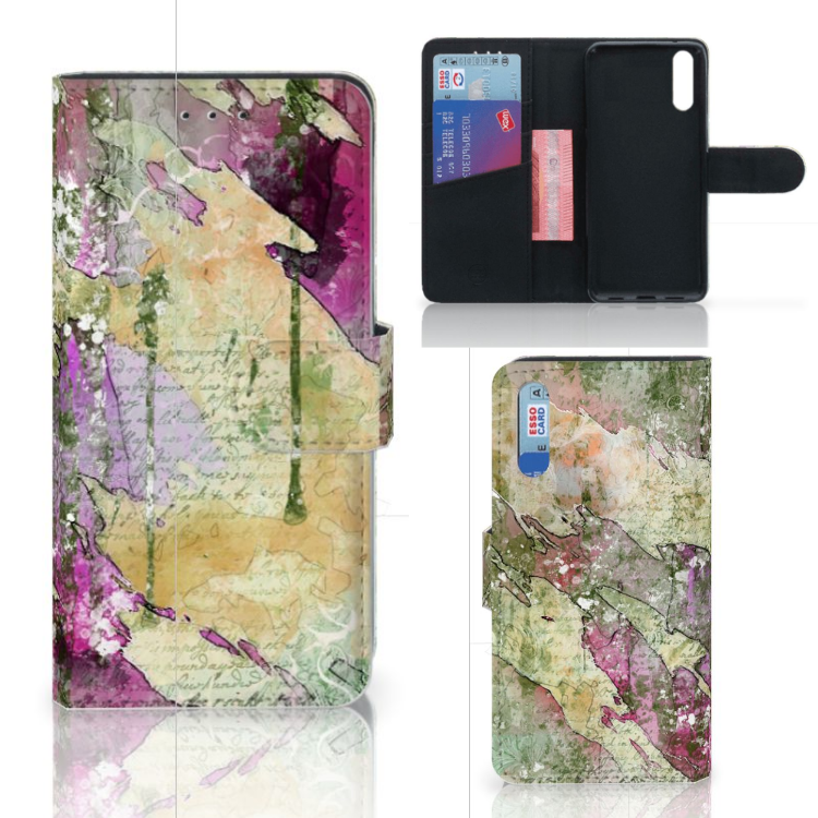 Hoesje Huawei P20 Letter Painting