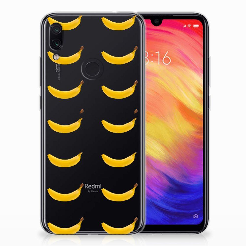 Xiaomi Redmi Note 7 Siliconen Case Banana