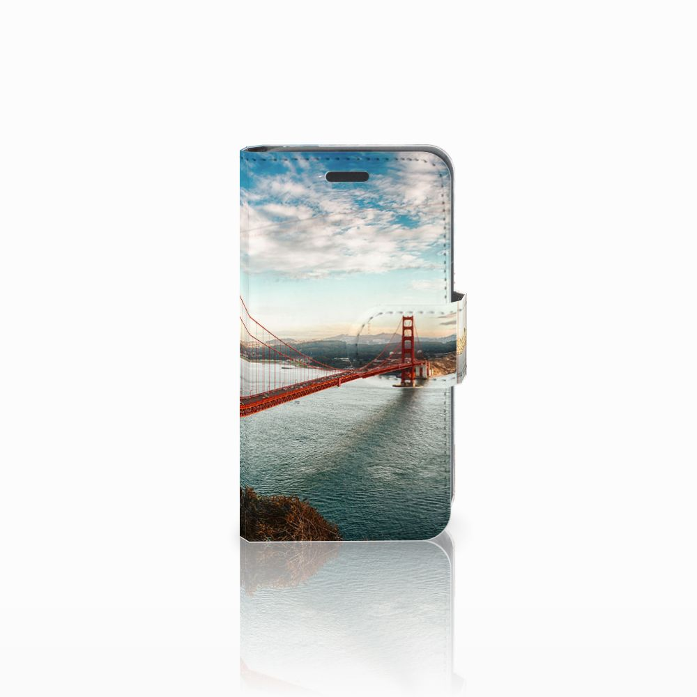 Nokia Lumia 520 Boekhoesje Design Golden Gate Bridge