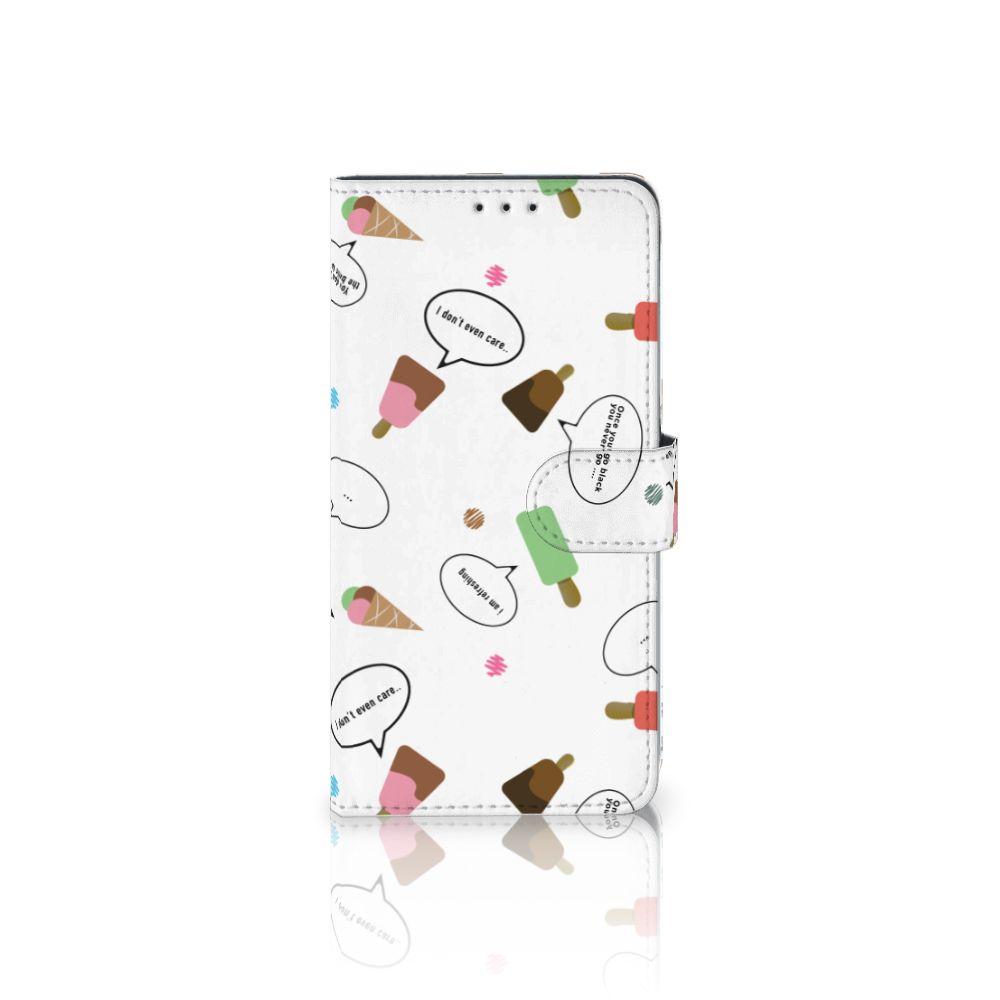 Samsung Galaxy A8 Plus (2018) Boekhoesje Design IJsjes