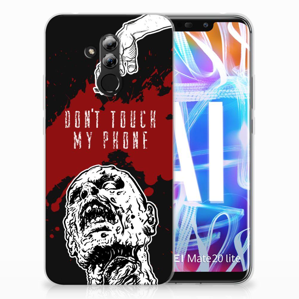 Huawei Mate 20 Lite TPU Hoesje Design Zombie Blood