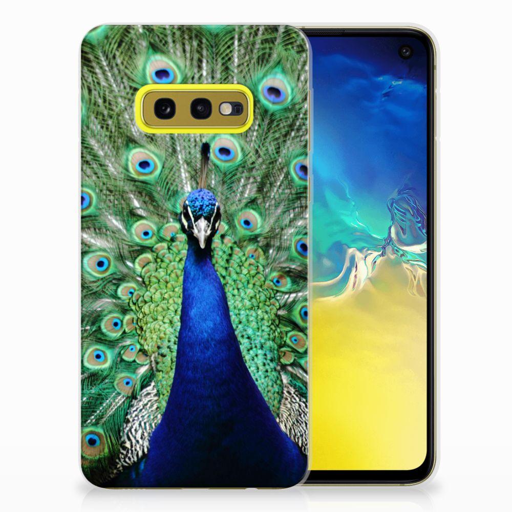Samsung Galaxy S10e TPU Hoesje Pauw