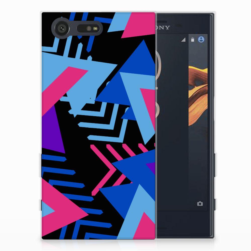 Sony Xperia X Compact TPU Hoesje Funky Triangle