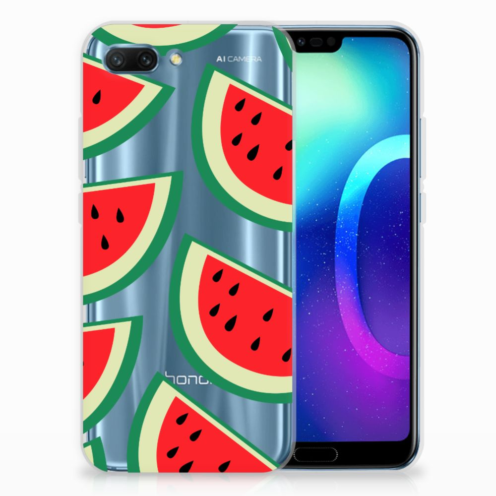 Huawei Honor 10 Siliconen Case Watermelons