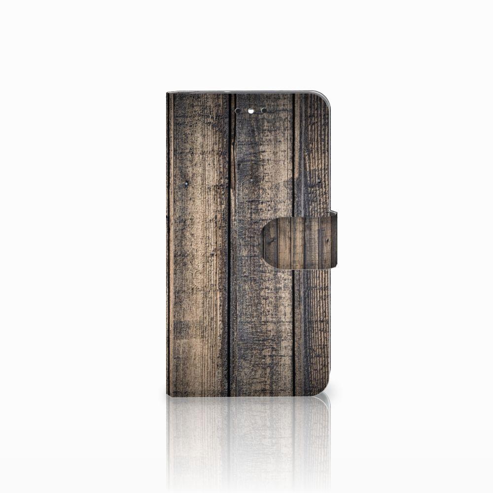 Motorola Moto G4 | G4 Plus Boekhoesje Design Steigerhout