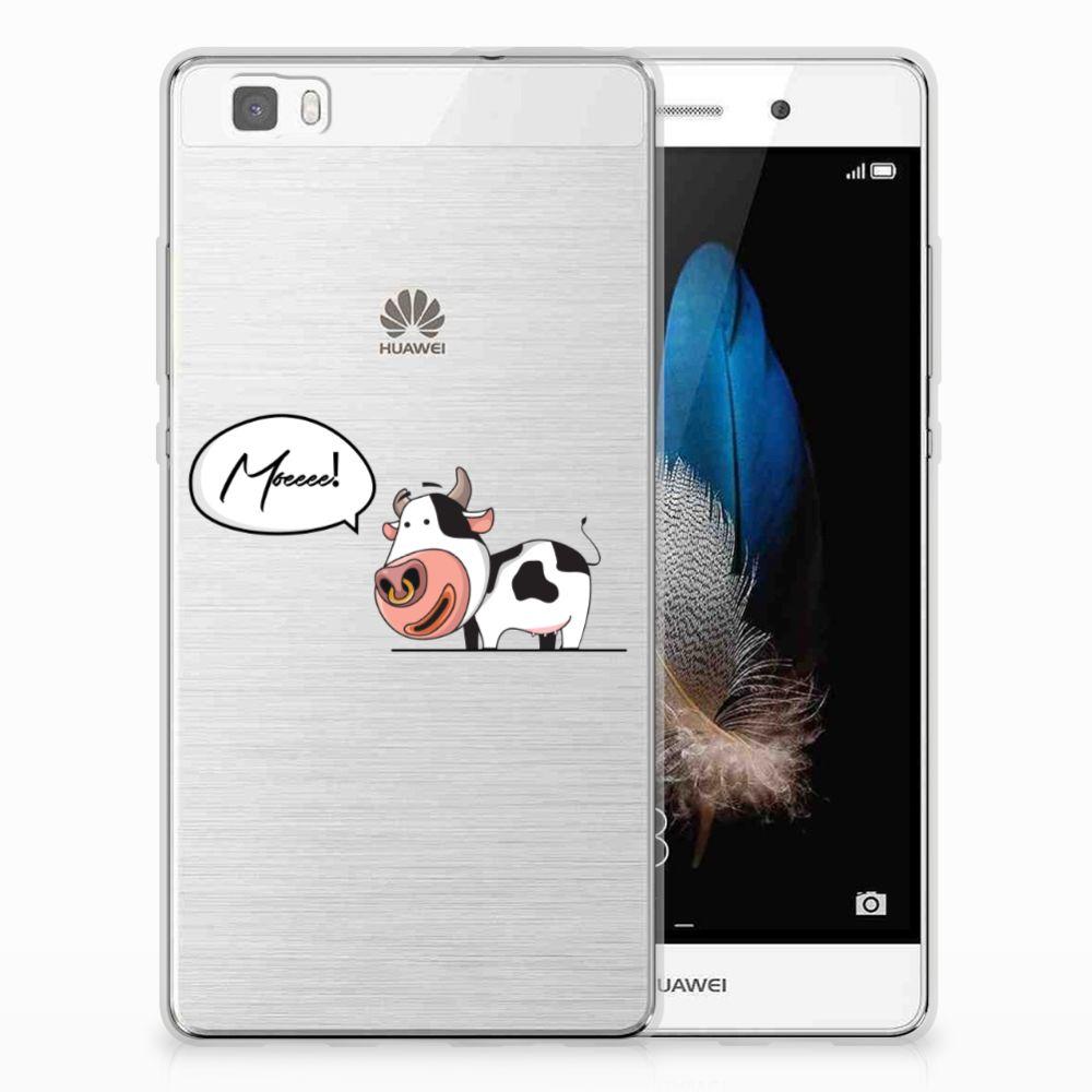 Huawei Ascend P8 Lite TPU Hoesje Design Cow
