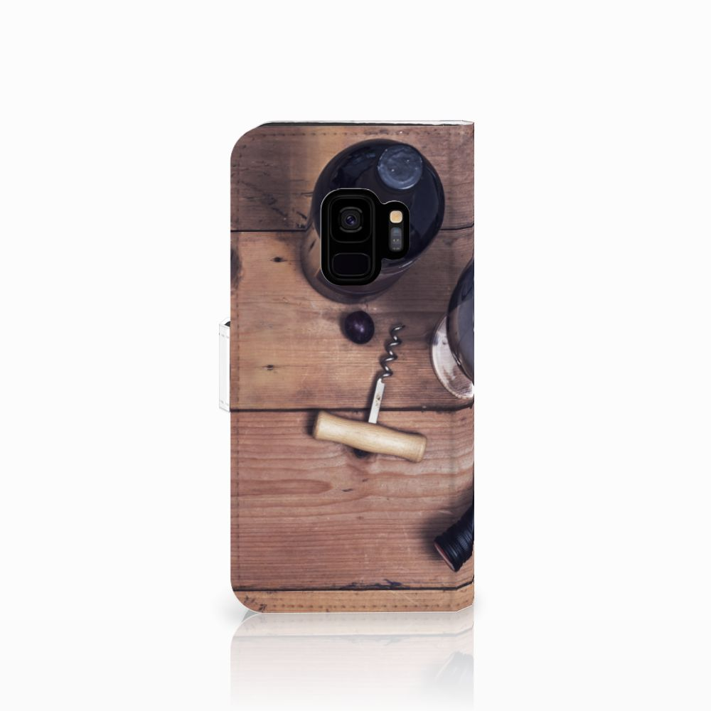 Samsung Galaxy S9 Book Cover Wijn