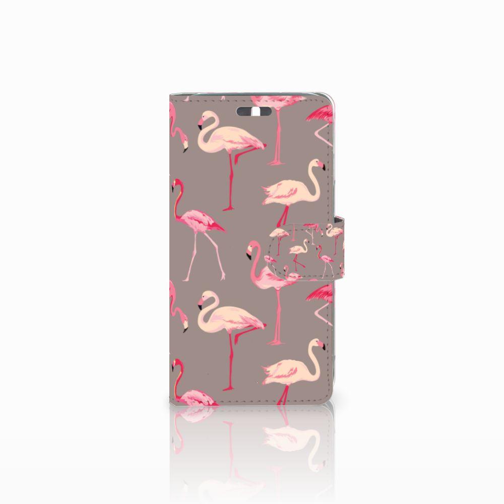 Huawei Y625 Uniek Boekhoesje Flamingo