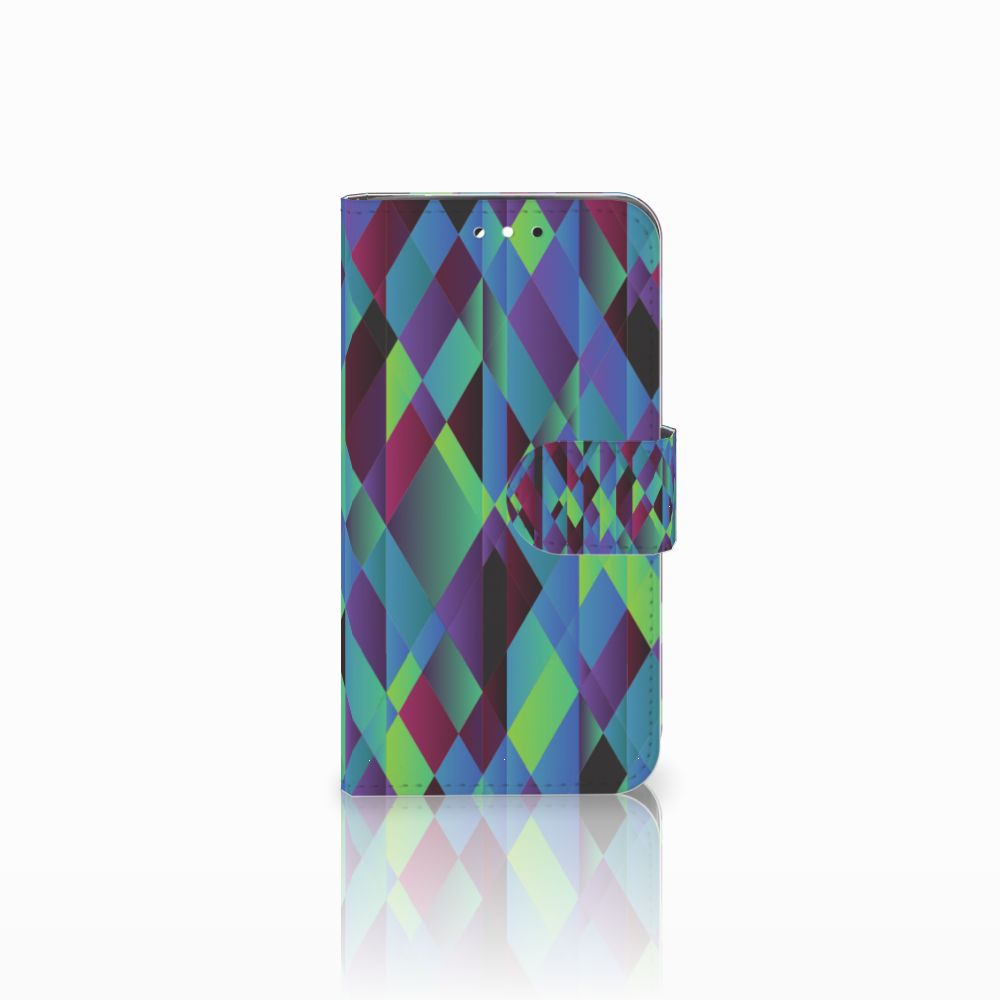 LG G3 S Bookcase Abstract Green Blue