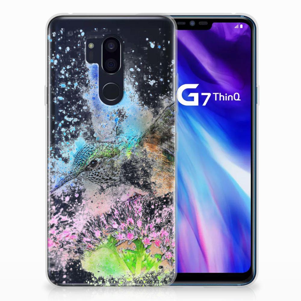 LG G7 Thinq TPU Hoesje Design Vogel