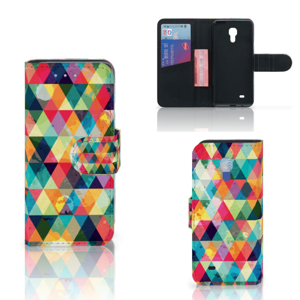 Samsung Galaxy S4 Mini i9190 Telefoon Hoesje Geruit