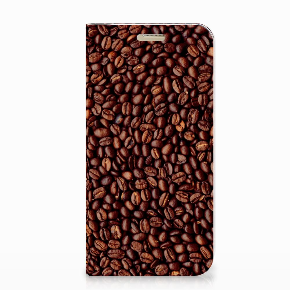 Samsung Galaxy A3 2017 Flip Style Cover Koffiebonen