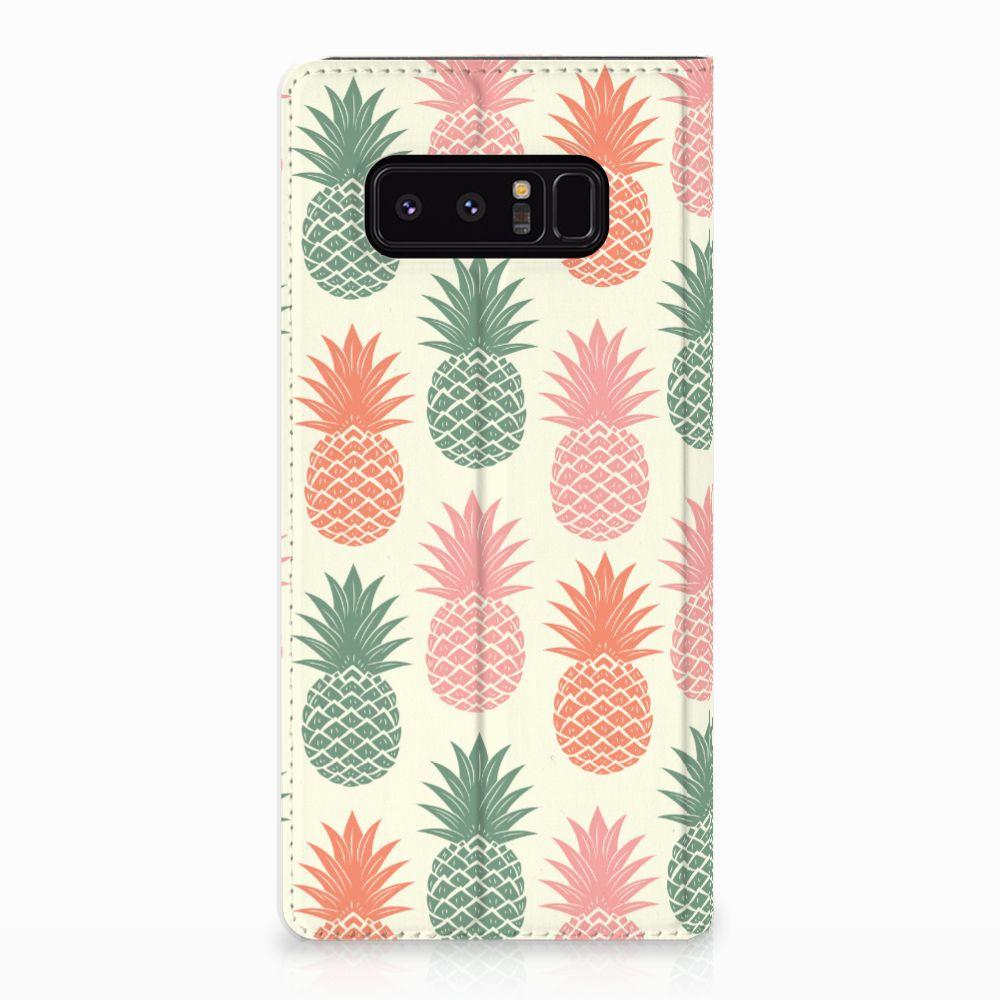 Samsung Galaxy Note 8 Standcase Hoesje Design Ananas