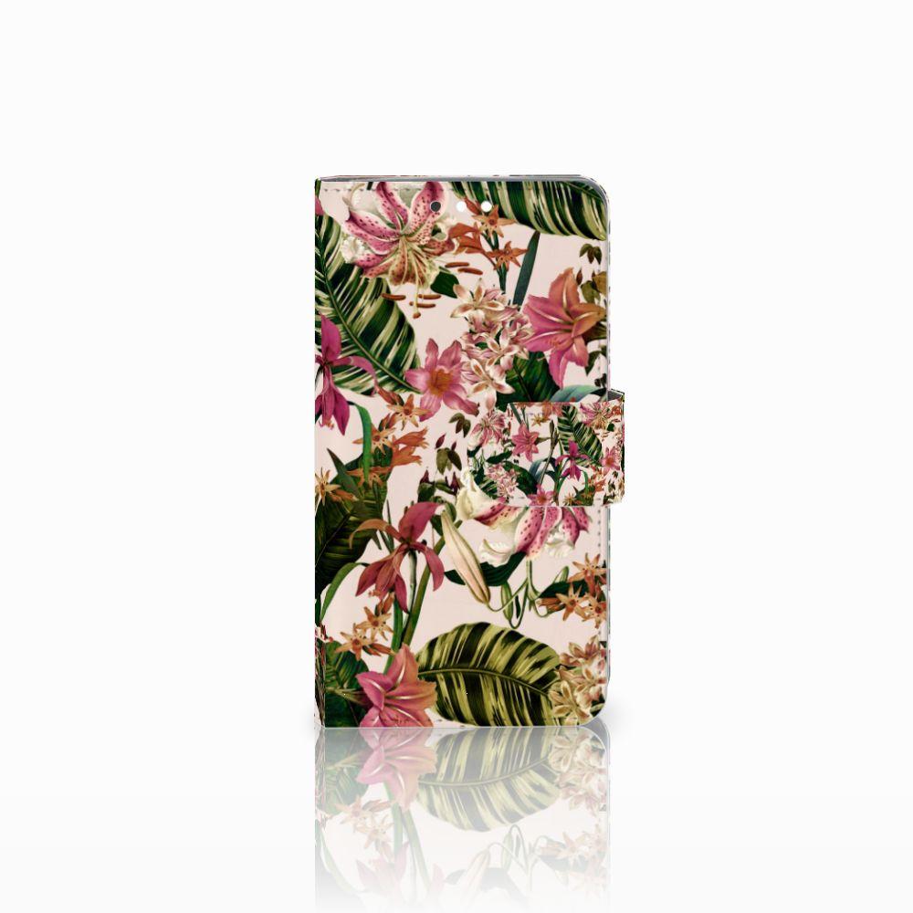 Nokia 8 Sirocco | Nokia 9 Uniek Boekhoesje Flowers