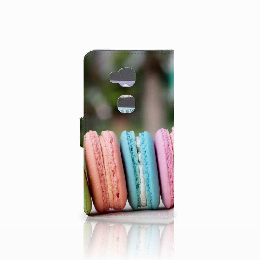 Huawei Honor 5X Book Cover Macarons