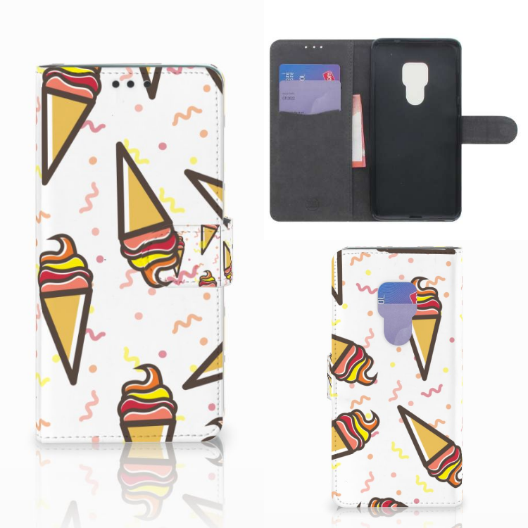 Huawei Mate 20 Book Cover Icecream