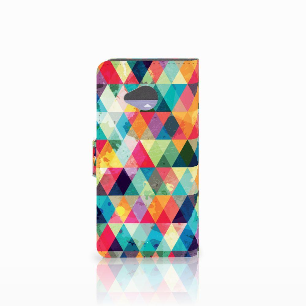 HTC U11 Life Telefoon Hoesje Geruit