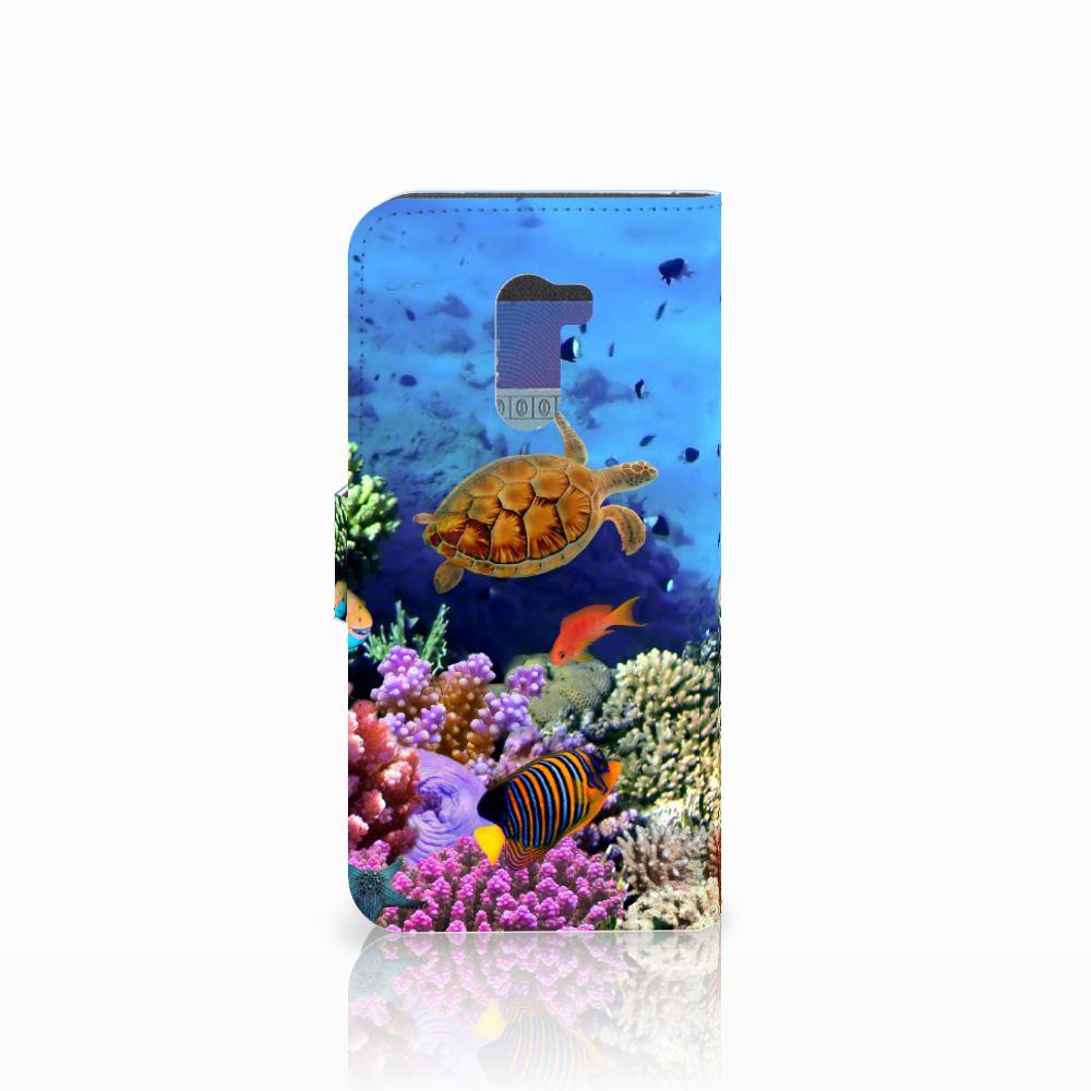 Xiaomi Pocophone F1 Telefoonhoesje met Pasjes Vissen