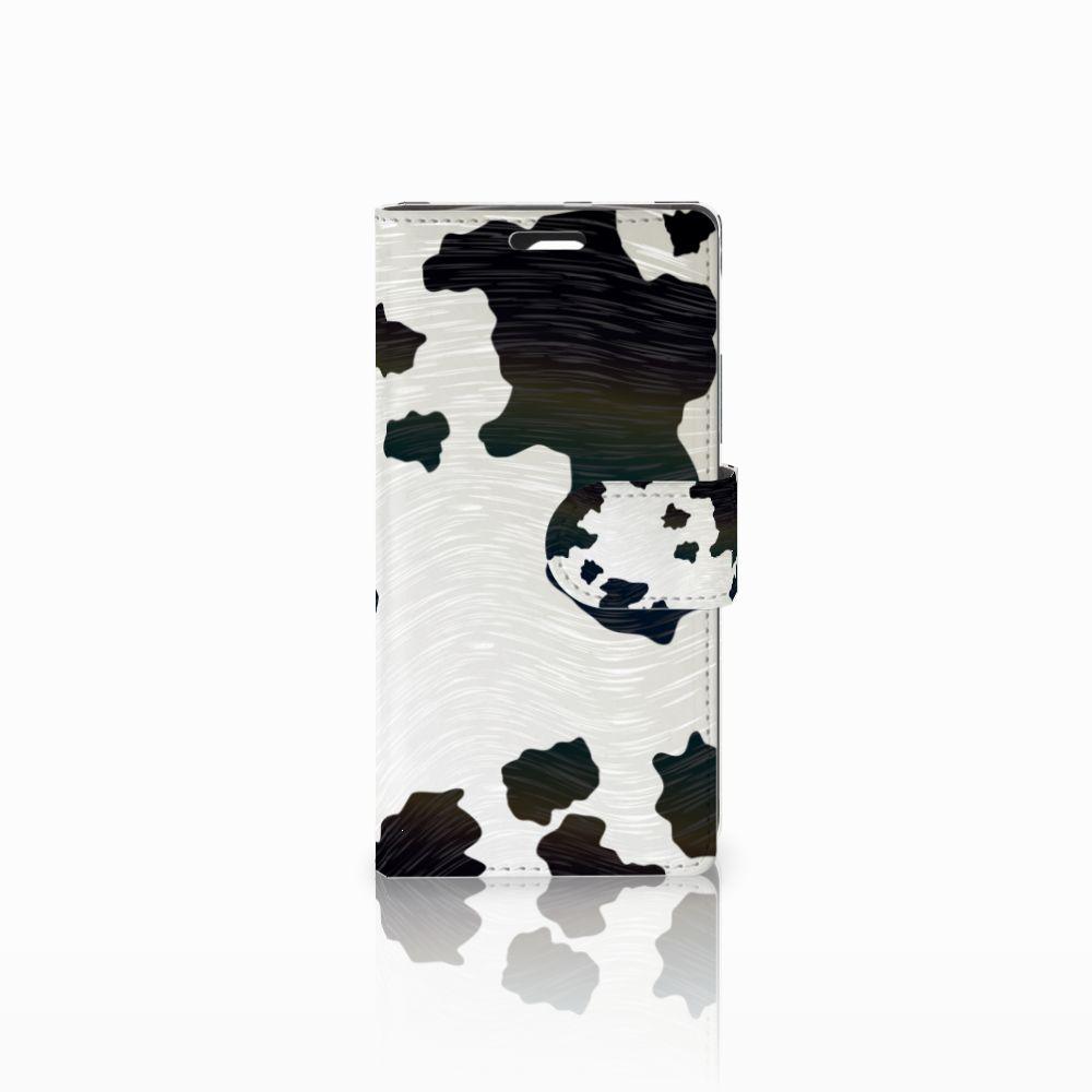 LG Spirit Telefoonhoesje met Pasjes Koeienvlekken