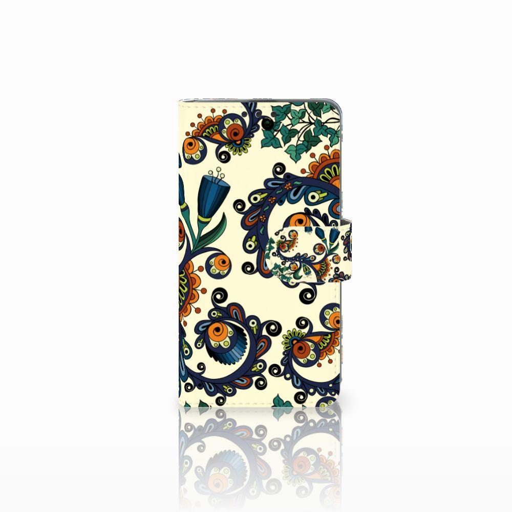Microsoft Lumia 535 Boekhoesje Design Barok Flower
