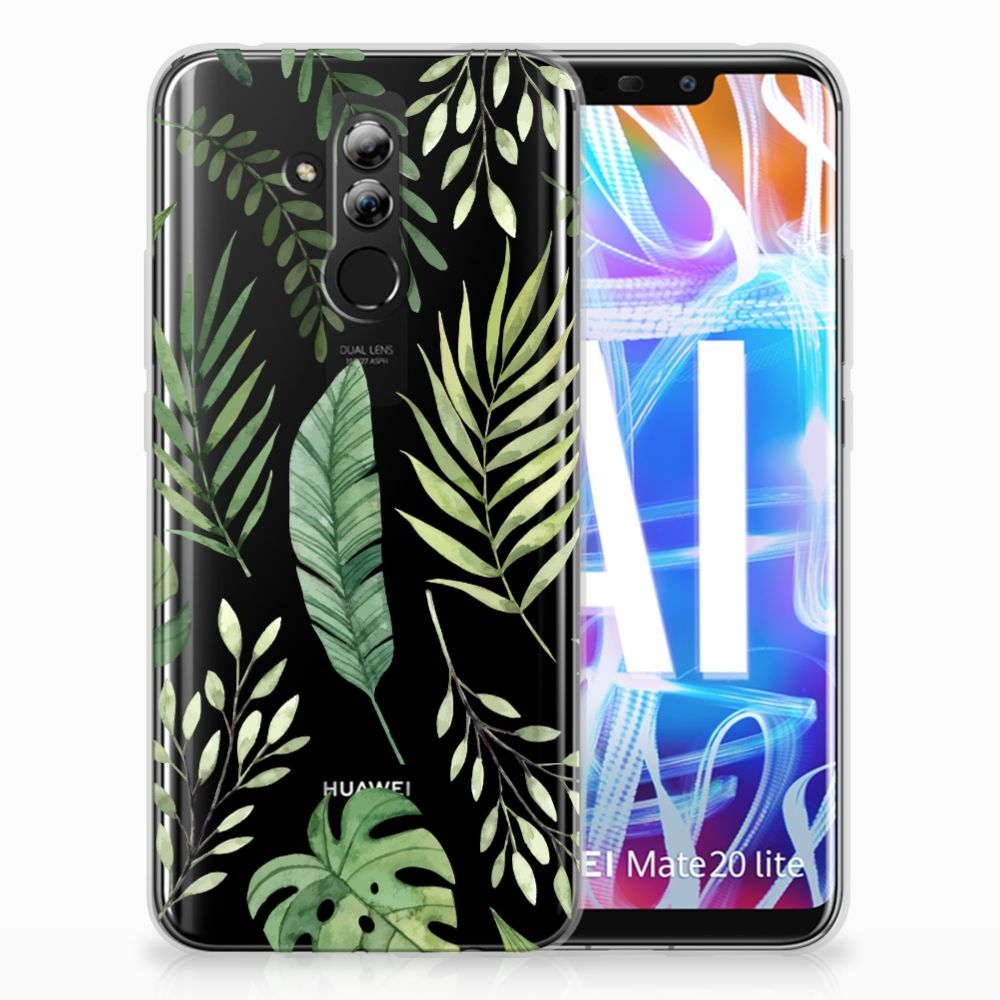 Huawei Mate 20 Lite TPU Case Leaves