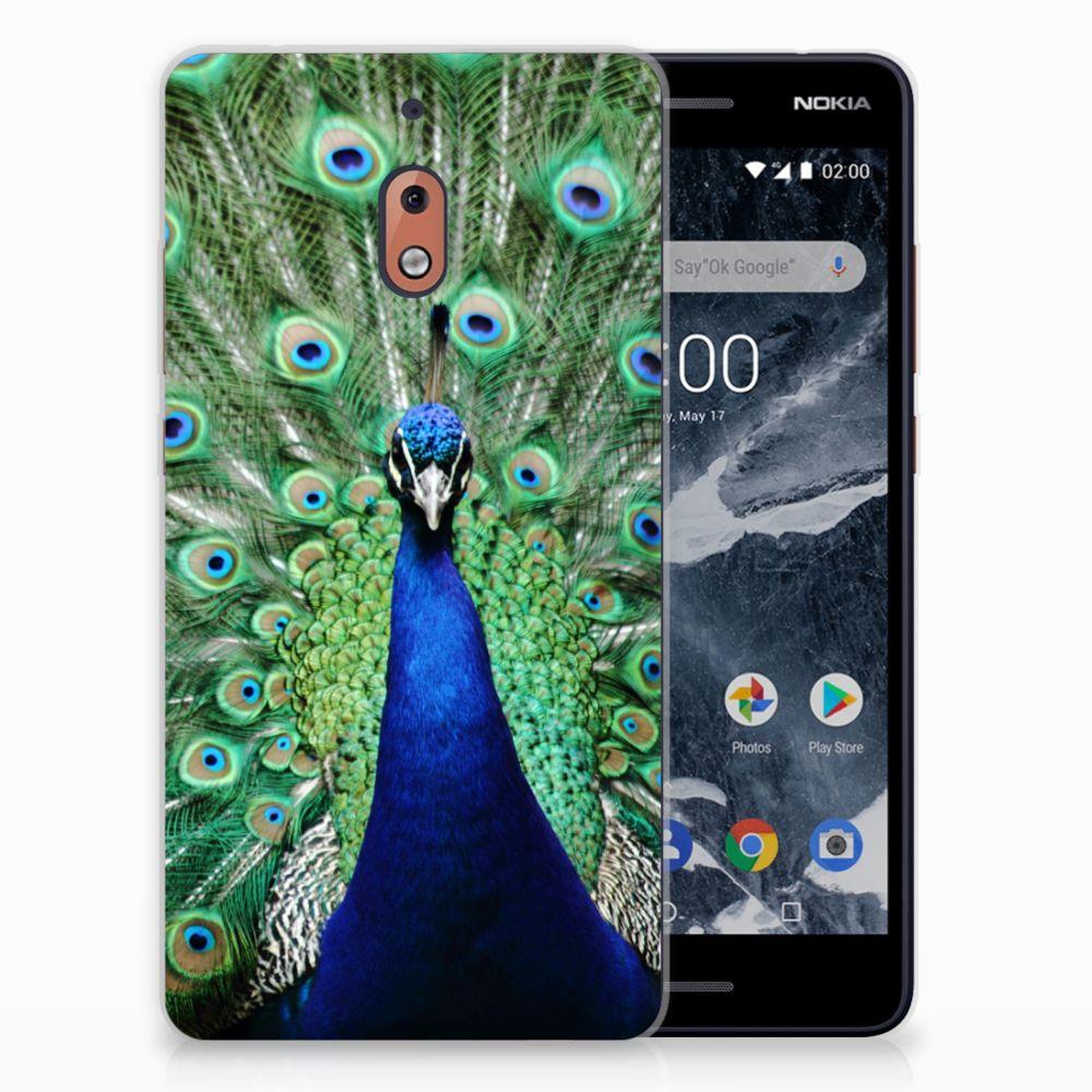 Nokia 2.1 (2018) TPU Hoesje Design Pauw