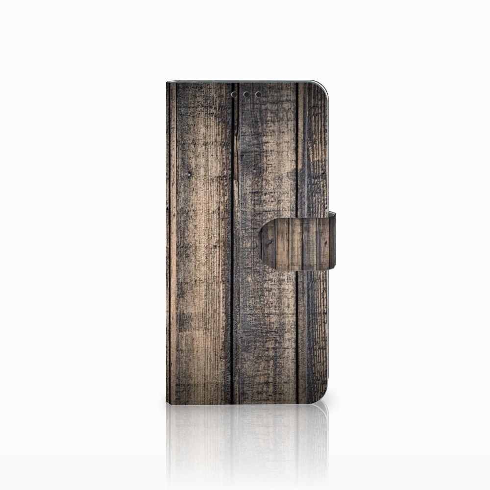 Huawei P Smart Plus Boekhoesje Design Steigerhout