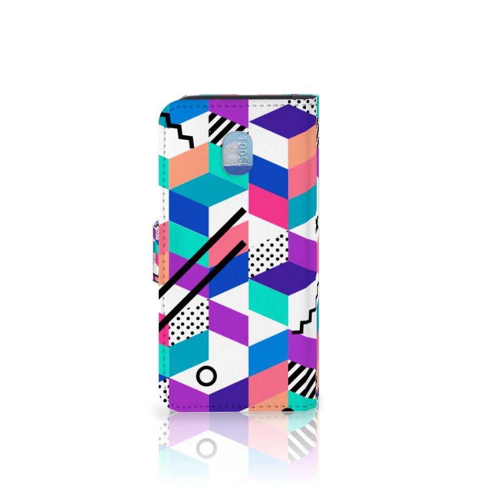 Samsung Galaxy J3 (2018) Bookcase Blokken Kleurrijk