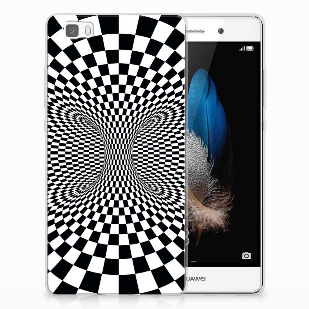 Huawei Ascend P8 Lite TPU Hoesje Illusie
