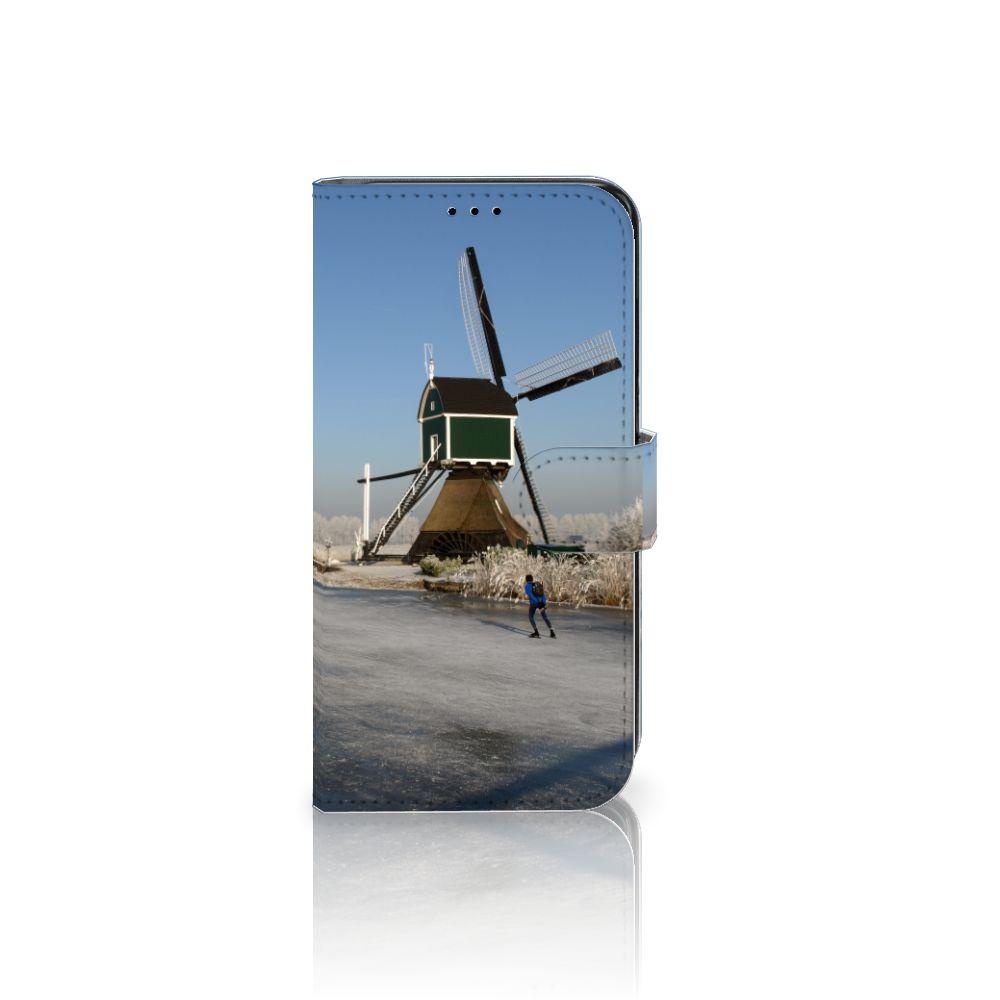 Samsung Galaxy S7 Edge Boekhoesje Design Schaatsers
