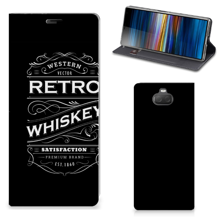 Sony Xperia 10 Plus Flip Style Cover Whiskey