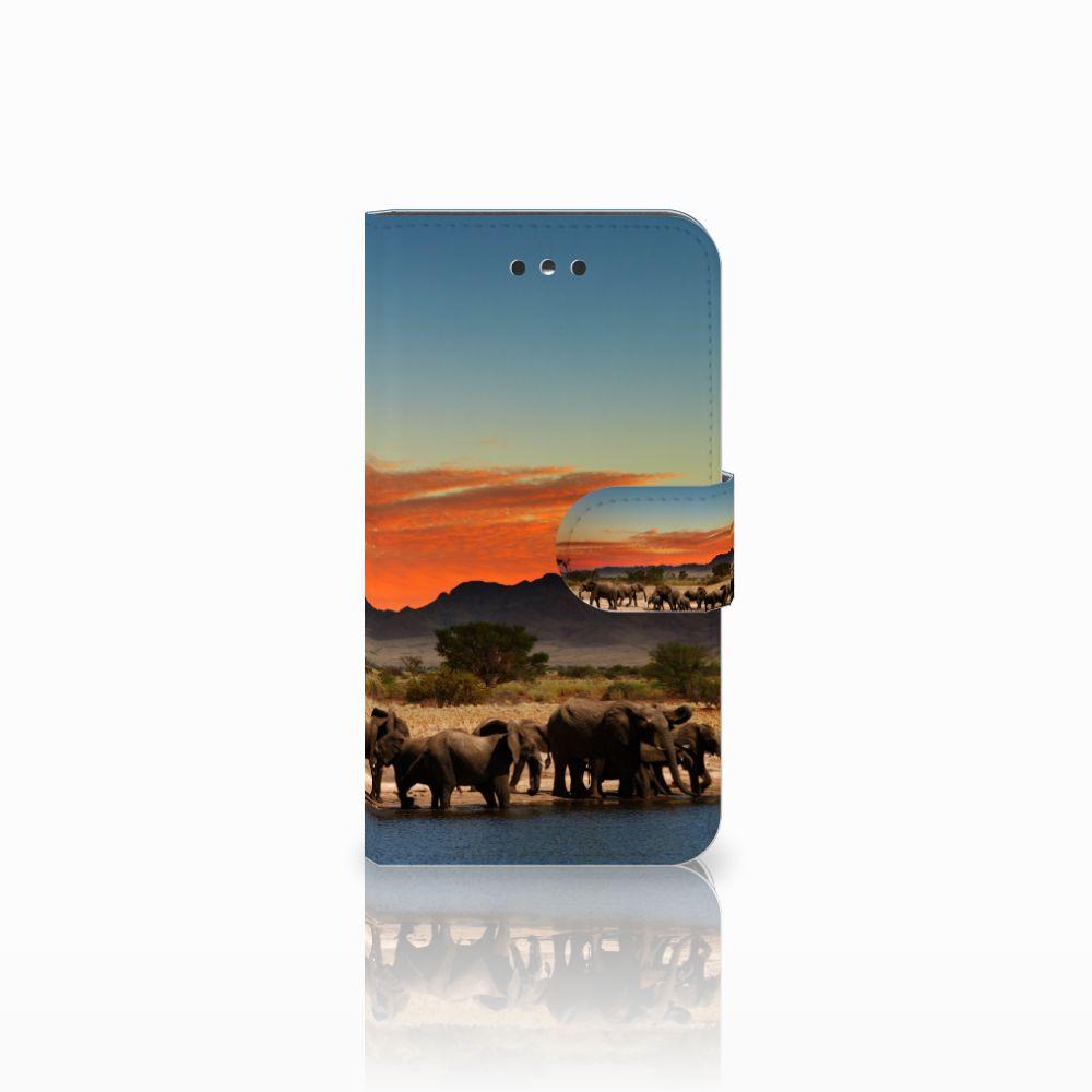 Nokia 1 Boekhoesje Design Olifanten