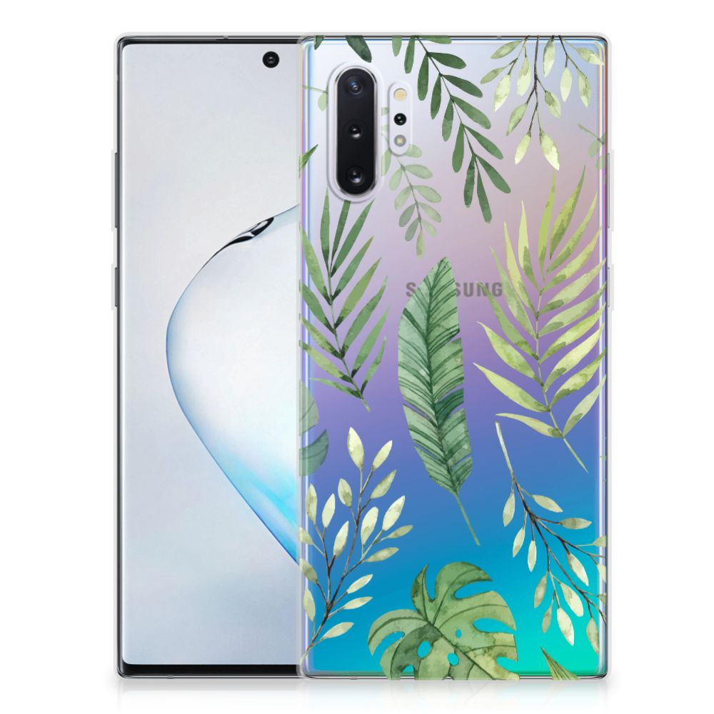Samsung Galaxy Note 10 Plus TPU Case Leaves