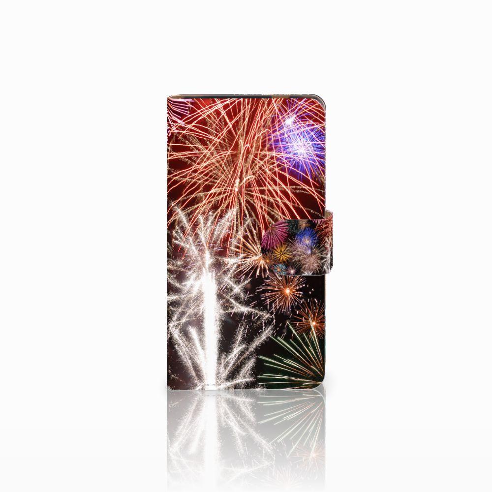 HTC Desire 601 Boekhoesje Design Vuurwerk
