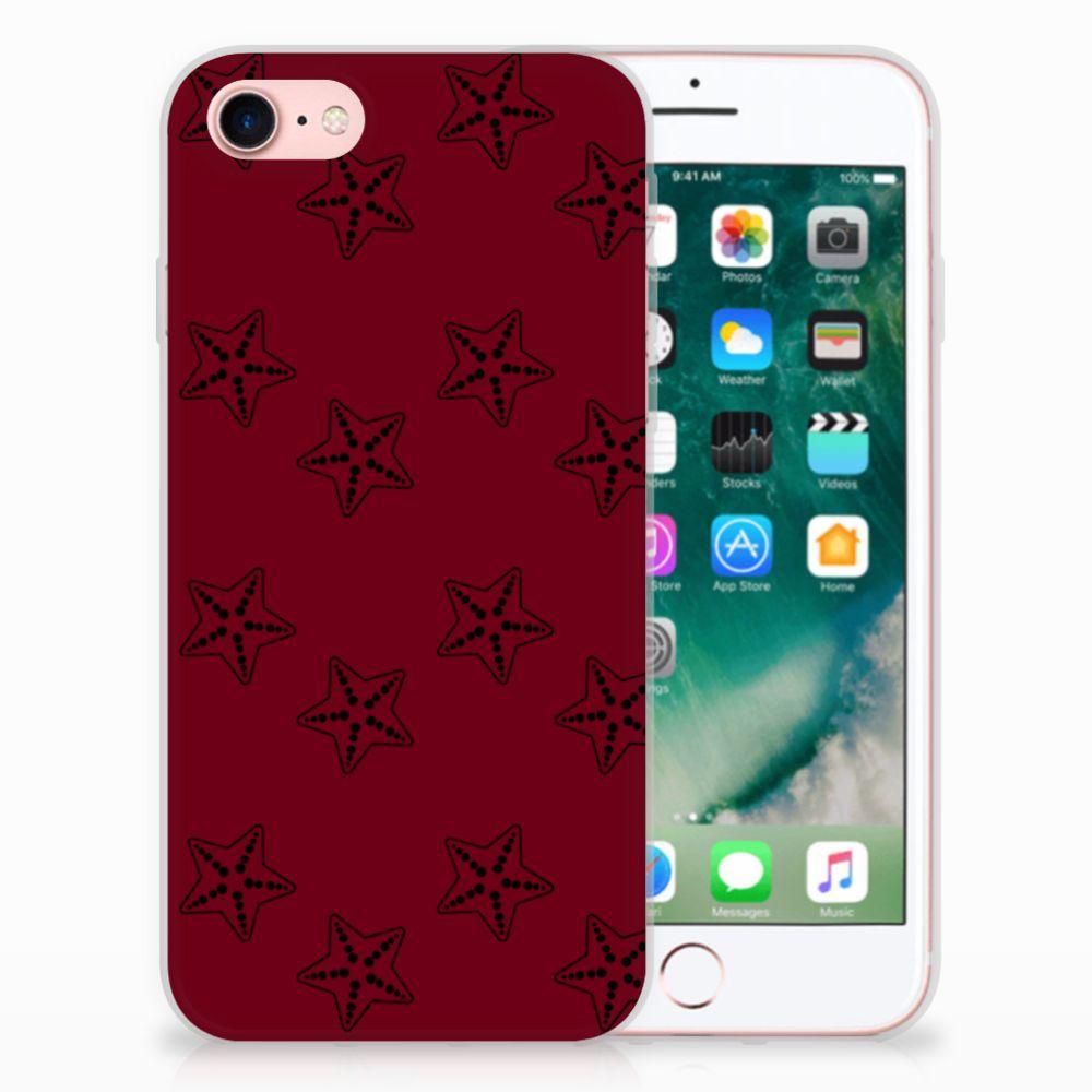 Apple iPhone 7 | 8 Uniek TPU Hoesje Sterren