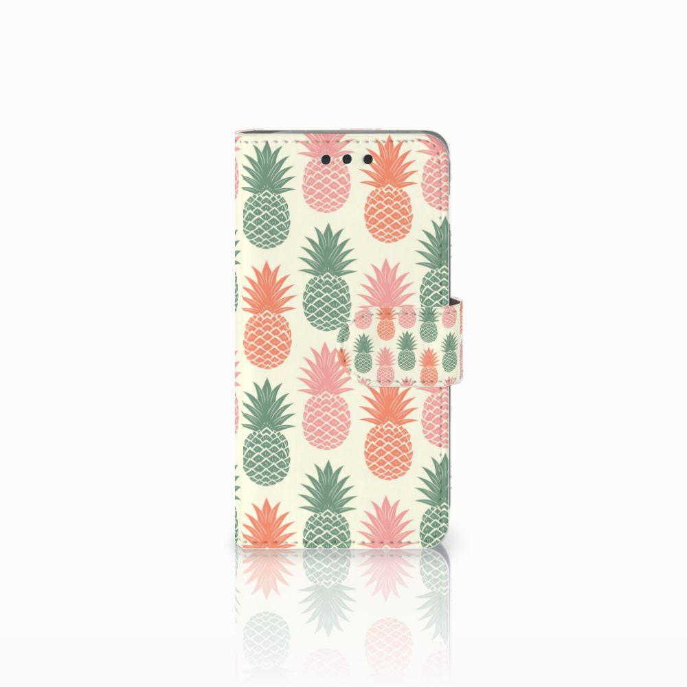 Samsung Galaxy A3 2016 Boekhoesje Design Ananas