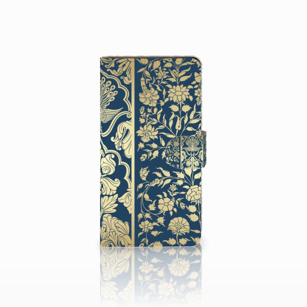 Huawei Ascend G700 Boekhoesje Golden Flowers