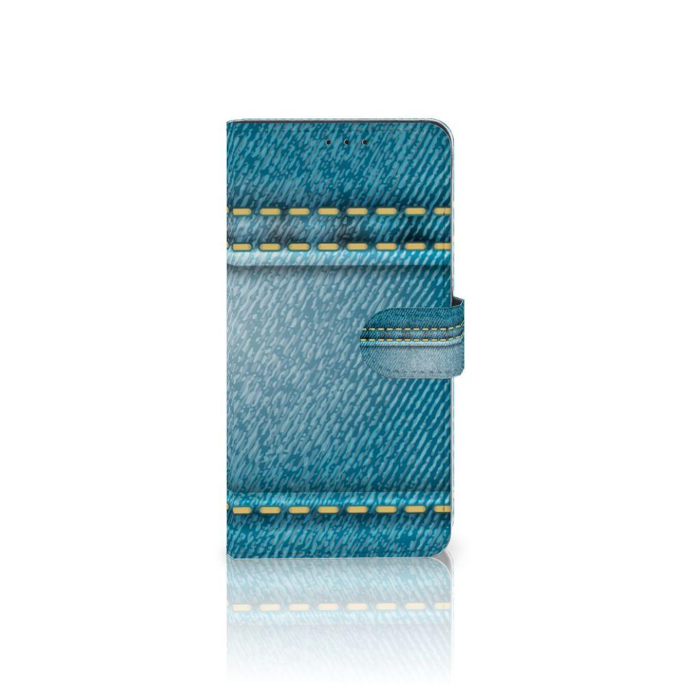 Samsung Galaxy A8 Plus (2018) Boekhoesje Design Jeans