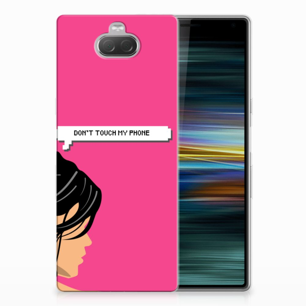 Sony Xperia 10 Plus Silicone-hoesje Woman DTMP
