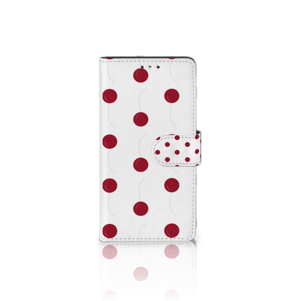 LG K10 (2017) Boekhoesje Design Cherries