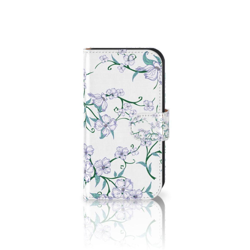 Samsung Galaxy Ace 4 4G (G357-FZ) Uniek Boekhoesje Blossom White