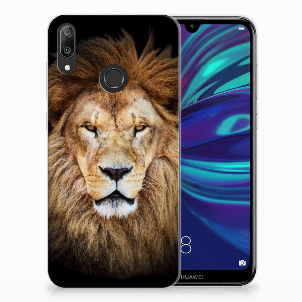 Huawei Y7 2019 Leuk Hoesje Leeuw