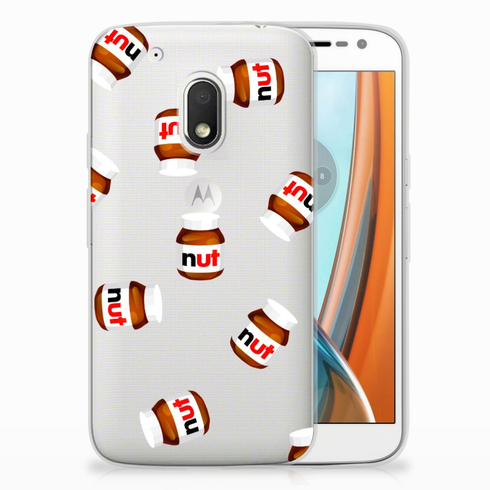 Motorola Moto G4 Play Siliconen Case Nut Jar